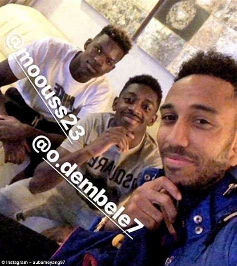 ousmane dembele haircut arsenal news pierre emerick aubameyang is a superstar
