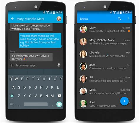 android texting apps textra sms is our favourite android text messaging app and it s free
