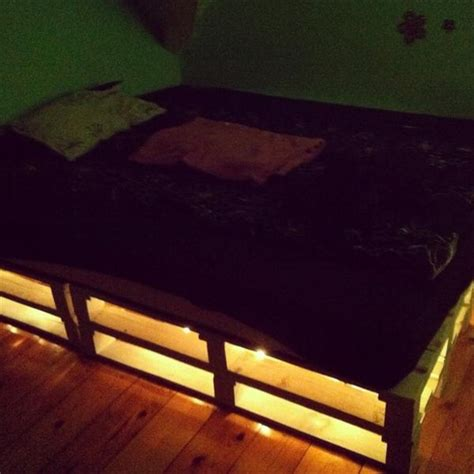bed with lights underneath pallet bed with lights underneath pixshark com