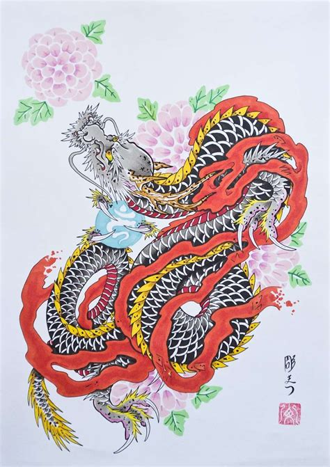 disegni di fiori giapponesi tatuaggi giapponesi foto bellezza pourfemme