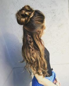 down hairstyles for formal events half up half down half up and down hairstyles on pinterest