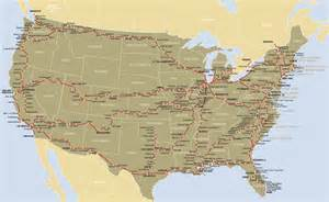 us map routes list of amtrak routes