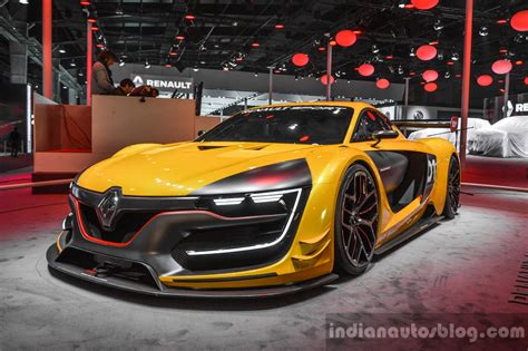 renault rs 01 renault rs 01 front quarter at auto expo 2016