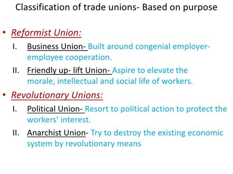 Objectives Of Trade Union Mba by Trade Union Act Sg