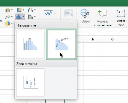 diagramme de pareto excel cr 233 er un diagramme de pareto support office