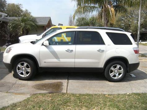 books on how cars work 2009 gmc acadia engine control sell used 2009 gmc acadia slt sport utility 4 door 3 6l in metairie louisiana united states