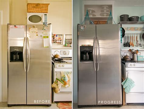 above kitchen cabinet storage ideas no cabinet the fridge kitchen ideas