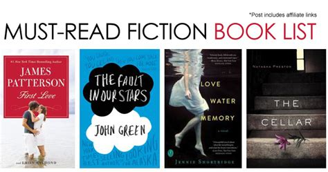 fiction books 10 must read fiction books