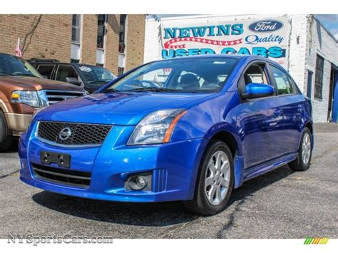 nissan sentra blue 2010 2010 nissan sentra 2 0 sr in blue metallic 686457