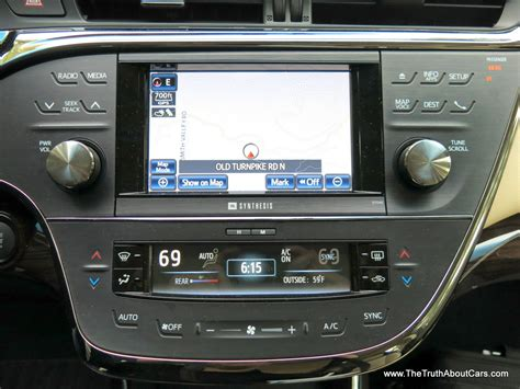Toyota Navigation 2013 Toyota Avalon Display Audio System With Entune And
