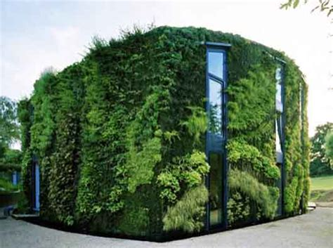 sustainable house green building construction by samyn and partners