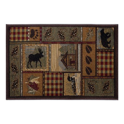 2 x 3 accent rugs tayse rugs nature multi color 2 ft x 3 ft accent rug