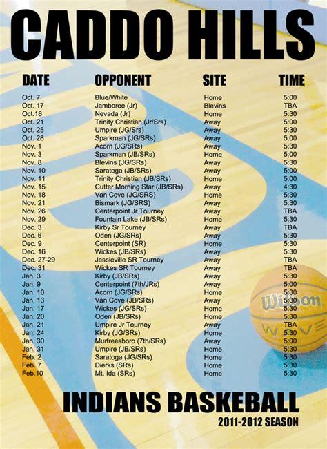 Sports Calendar Sports Calendar Miguel S Graphic Design Portfolio