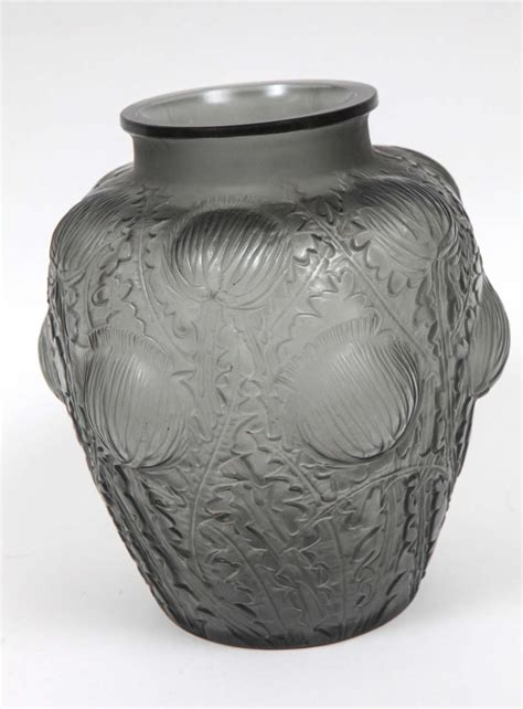 Lalique Glass Vase by Rene Lalique Glass Vase At 1stdibs