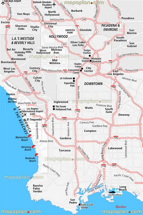 printable maps los angeles maps update 21051488 tourist map of los angeles los