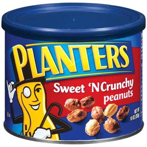 planters peanut planters sweet n crunchy peanuts 10 oz walmart