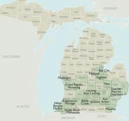 Michigan Zip Codes Map by Metro Area Zip Code Maps Of Michigan