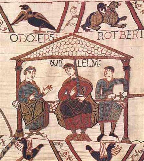 tappezzeria di bayeux feudatari e vassalli il palazzo di sichelgaita