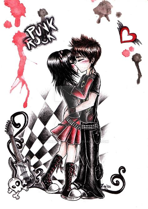 imagenes rockabilly love punk rock love by moonlightprincess on deviantart