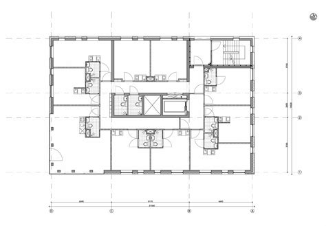 housing planning housing tower blok 1 level 6 floor plan drawing courtesy of group a
