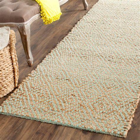 6 foot runner rug safavieh fiber beige green 2 ft 6 in x 6 ft runner rug nf453a 26 the home depot