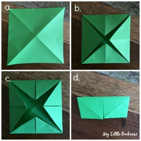How To Make A Chatterbox With Paper - choose a book chatterbox my bookcase