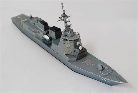 Destroyer Papercraft - new paper craft jmsdf ddg 178 ashigara atago class
