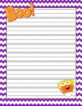 halloween writing themes 43 best images about borders stationary food on pinterest