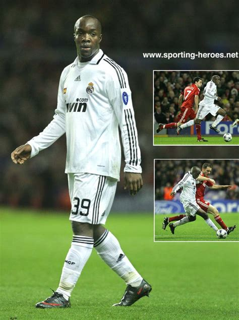 Real Madrid 09 lassana diarra uefa chions league 2008 09 real madrid