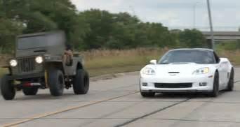 Fast Jeeps Zr 1 Corvette Vs Lsx Willy S Jeep