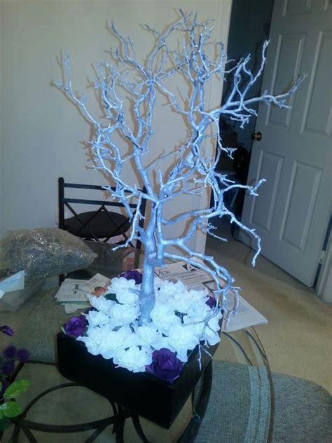 manzanita tree centerpieces weddingbee photo gallery