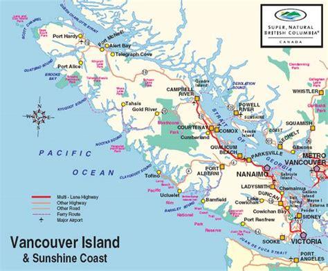 printable map vancouver island vancouver island map vancouver island cities
