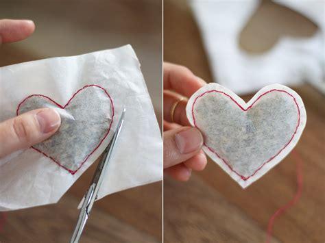 How To Make Paper Look With Tea Bags - diy shaped tea bags honestlyyum