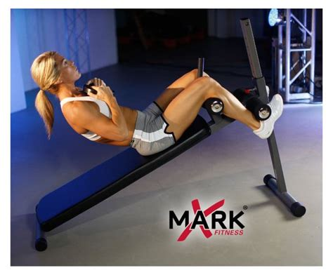 reverse sit up on incline bench xmark xm 4416 12 position weights bench review