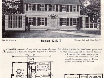 colonial revival house plans 1920s house plans mexzhouse