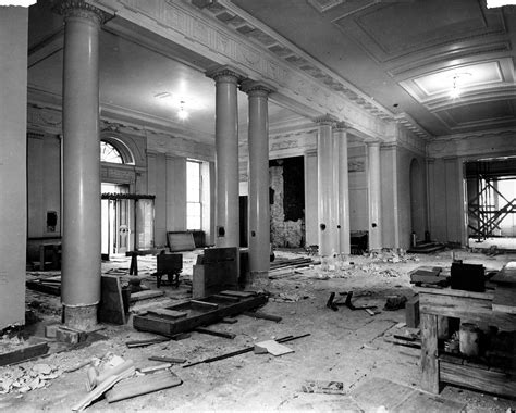 renovating the house file white house lobby during the renovation 12 27 1949 jpg wikimedia commons