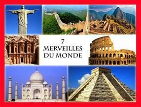 les 7 merveilles du monde 187 vacances arts guides voyages