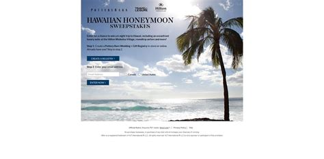 Hilton Hawaii Sweepstakes - hawaiian honeymoon sweepstakes win a trip to the big island hawaii