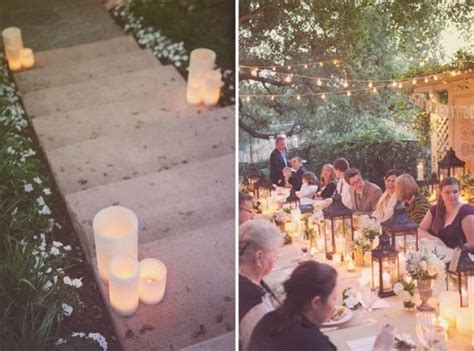 backyard rehearsal dinner ideas