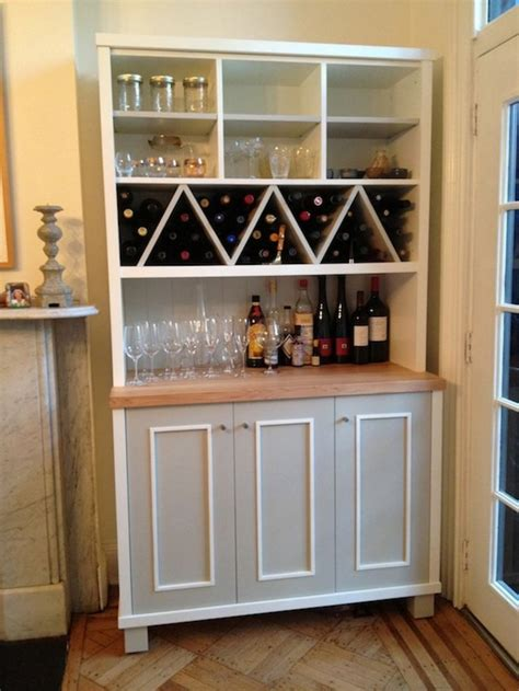 Kitchen Wall Storage Cabinets Zigzag Shaped Wine Racks With Multi Purposes Kitchen Wall Storage Kitchen Cabinet Ideas