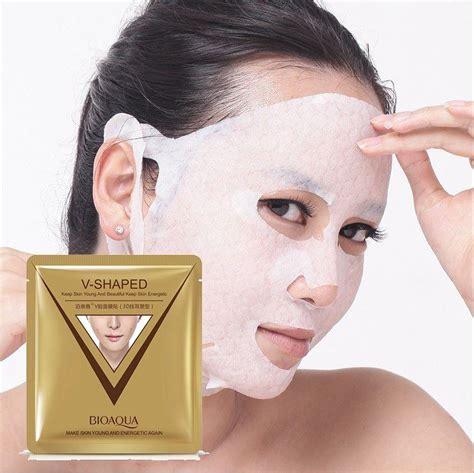 Masker V Shape v shaped ear style mask 3d 4d lift up mask