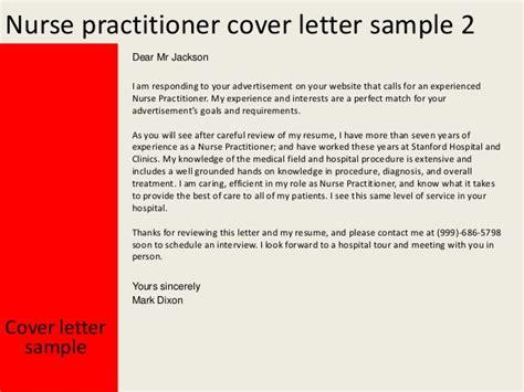 Cover Letter For Nurse Practitioner images