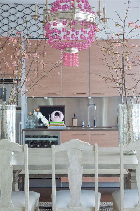 Sassy Kitchen by 24 Pink Chandelier Light Designs Decorating Ideas