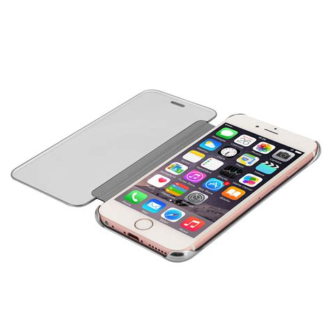 Promo Flip Cover Smart Mirror Iphone 6 Plus 5 5inch 6g 6s Auto for apple iphone 5 6s 7 plus mirror clear view window