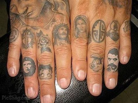 finger tattoo portraits tattoo 2012 25 places on your body to get tattoos