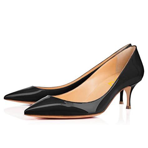 fsj womens mid high kitten heels floral print shoes