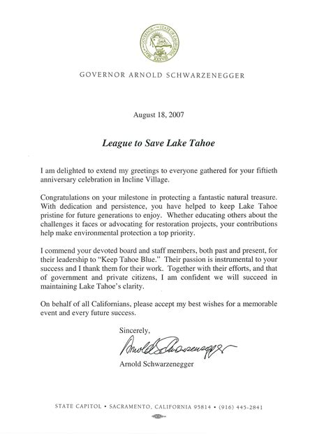 Letter Collaboration 60 Years Of Accomplishments