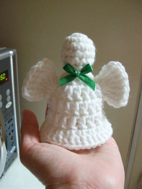 free patterns angel crochet free angel bell crochet pattern christmas pinterest