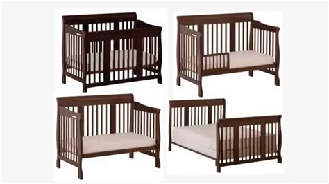 Stork Craft 4 In 1 Convertible Crib Stork Craft Tuscany 4 In 1 Convertible Crib Espresso