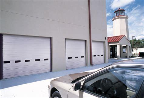 Economy Garage Doors Ribbed Steel Industrial Garage Doors Non Insulated Economy Insulated Idc Automatic